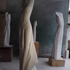 Marble contemporary Venuses of modern time by artist Giovanni Balderi